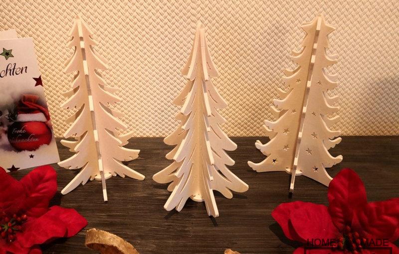 Kleine Steck-Bäume